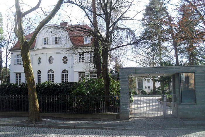 Die Villa Wurmbach in Berlin